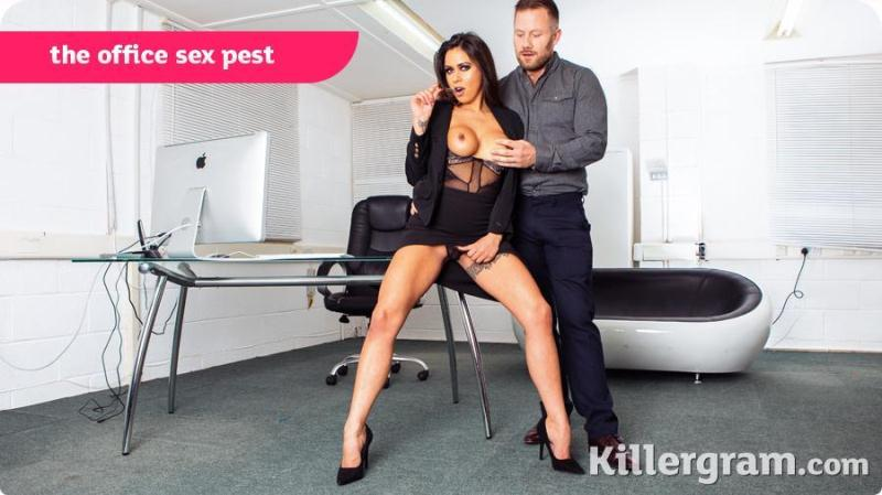 CumIntoMyOffice.com/K1ll3rGr4m.com: Roxxy Lea - The Office Sex Pest [SD] (239 MB)