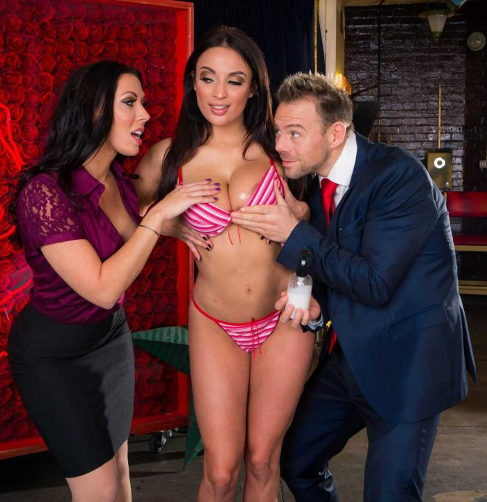 BrazzersExxtra/Brazzers: Rachel Starr, Anissa Kate - You Can Cream On Me  [HD 720p]  (Threesome)