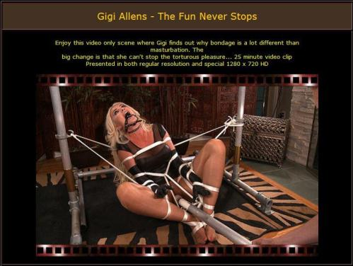 BondageCafe.com [Gigi Allens - The Fun Never Stops - E0919] ,