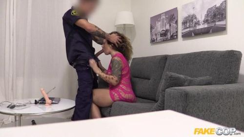 FakeCop.com / FakeHub.com [Lulu Pretel - Hot Web Cam Model Performs for Cop] SD, 480p