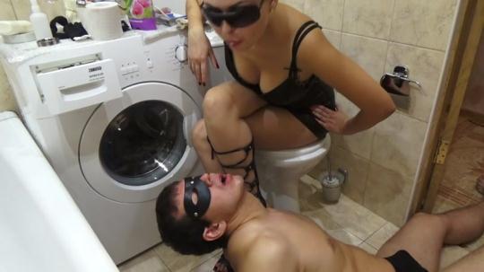 Scat Porn: My sweet shit on my Slave - Femdom Scat (FullHD/1080p/1.13 GB) 04.12.2016
