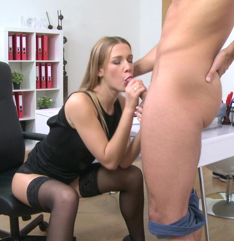 Alexis Crystal, Jay Smooth ~  American Stud Cums on Agents Face  ~  FemaleAgent ~  HD 720p