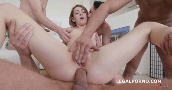 LegalPorno: Tera Link - 5on1 wee in Porn Tera Link with first anal /dp /gapes /multiple facial GIO293 (SD/2016)