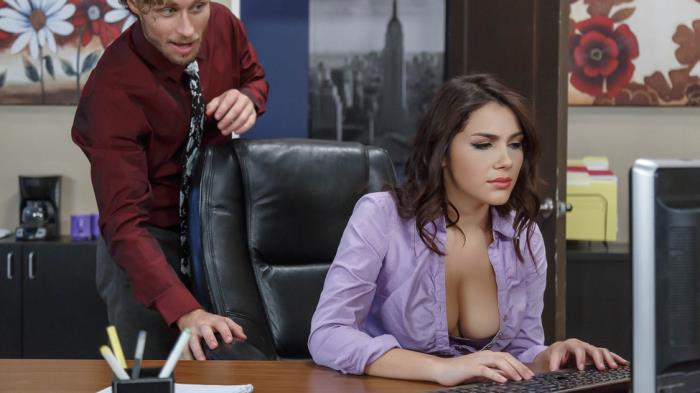 BigTitsAtWork/Brazzers: Valentina Nappi - All Natural Intern  [SD 480p]  (Big tit)