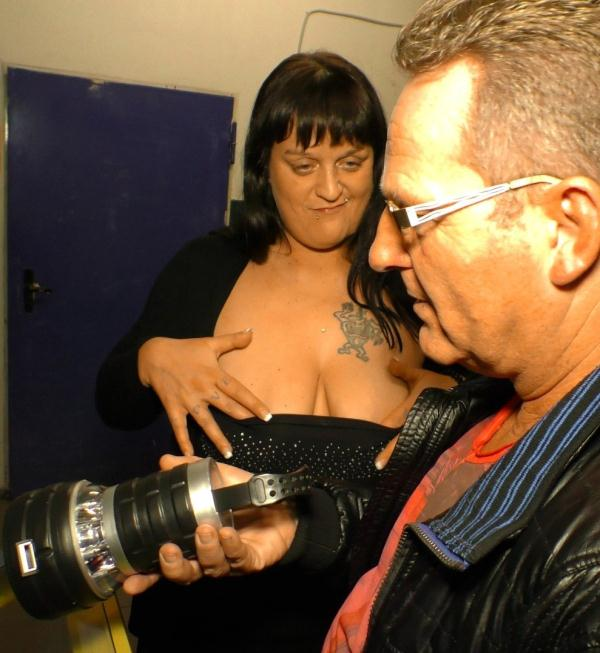 SextapeGermany: Kim Schmidts - Tattooed German black-haired newbie is fucked hard while shot POV style [SD 311 MB]