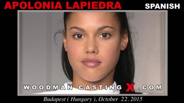 (WoodmanCastingX | SD) Apolonia Lapiedra - Casting X 171 (941 MB/2016)