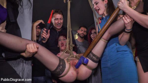 Pain Slut Rija Mae Fully Disgraced: Steve Holmes, Yasmin Scott, Kendo Ortiz, Rija Mae - PublicDisgrace 720p