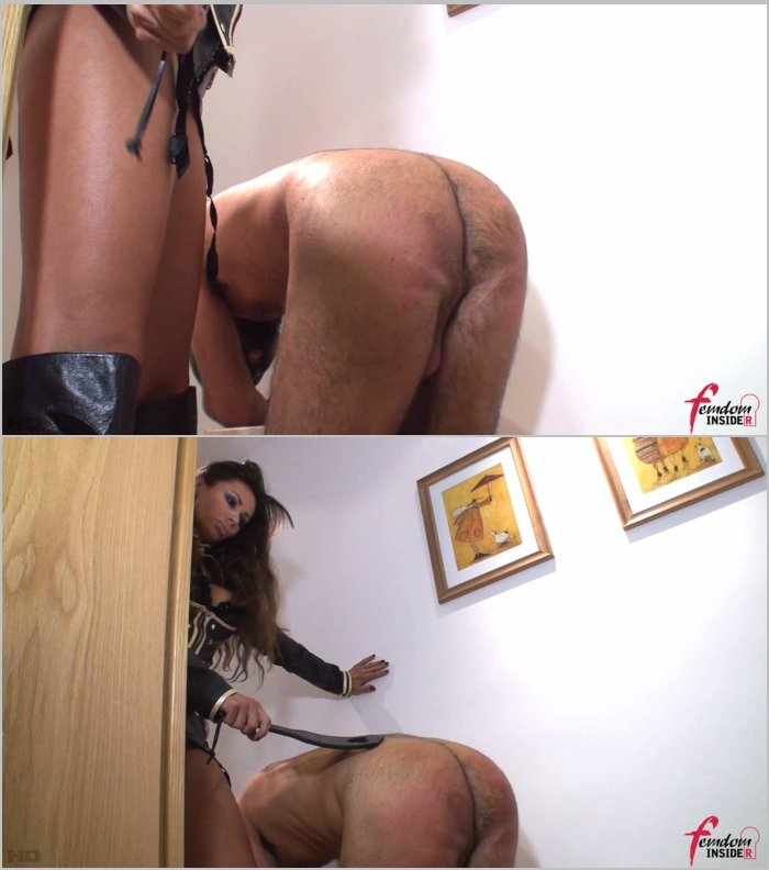 Mistress Marta ~  Bended Slave And A Paddle  ~  FemdomInsider ~  FullHD 1080