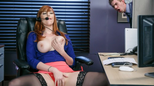BigTitsAtWork/Brazzers: Lauren Phillips - Stick To The Script  [SD 480p]  (Big tit)