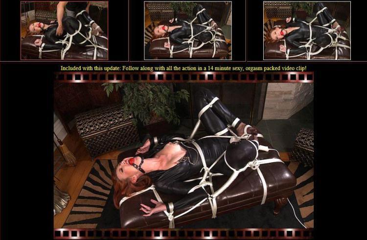 Kendra James - Just Lay Back - E0920 [BondageCafe / ]