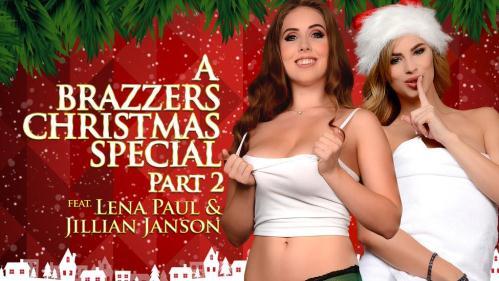 ZZSeries.com / Brazzers.com [Jillian Janson & Lena Paul - A Brazzers Christmas Special: Part 2] SD, 480p