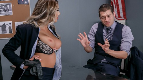 BigTitsAtWork/Brazzers: August Ames - Confidential Informant  [SD 480p]  (Big tit)