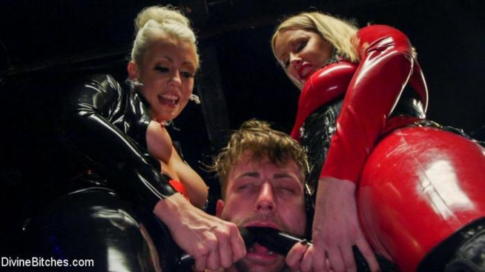 DivineBitches.com / Kink.com - Maitresse Madeline Marlowe, Tanner Tatum, Lorelei Lee - Fanboy Pussy Worship Dream Come True [SD, 540p]