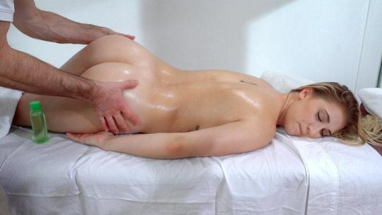 P3rvs0nP4tr0l, M0f0s: Sierra Nicole - Cute Blonde Craves Masseur's Cock (SD/480p/359 MB) 12.12.2016