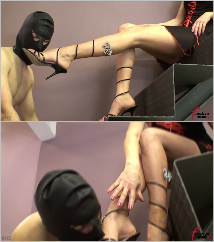 Mistress Soraya ~  Licking Mistress Soraya Shoes  ~  FemdomInsider ~  FullHD 1080