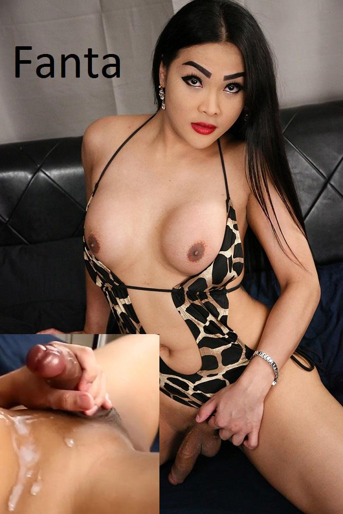 Fanta's Big Cumshot! / 09 Dec 2016 [Ladyboy.xxx / HD]