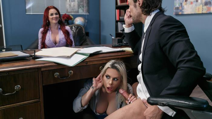 BigTitsAtWork/Brazzers: Rachel RoXXX, Skyla Novea - Hungry For A Job  [SD 480p]  (Big tit)