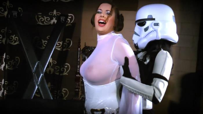 Clips4Sale.com: Anastasia Pierce - Fetish Super-Heros - AP LEIA Strikes Back (2016/FullHD)