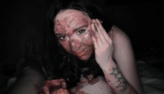 Scat Porn: SHIT ASS Night - Part 2 - Blowjob (FullHD/1080p/522 MB) 30.11.2016
