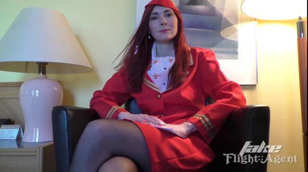 Kattie G Age: 24 (Nationality: Czech) [FakeFlightAgent 720p]