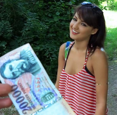 PublicPickUps/Mofos: Suzy Rainbow - Hungarian Hottie Pounded Outdoors  [SD 480p]