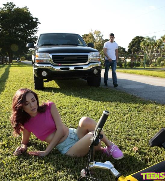 TeensLoveHugeCocks.com - Kiley Jay - Bike Boo Boo [FullHD 1080p]
