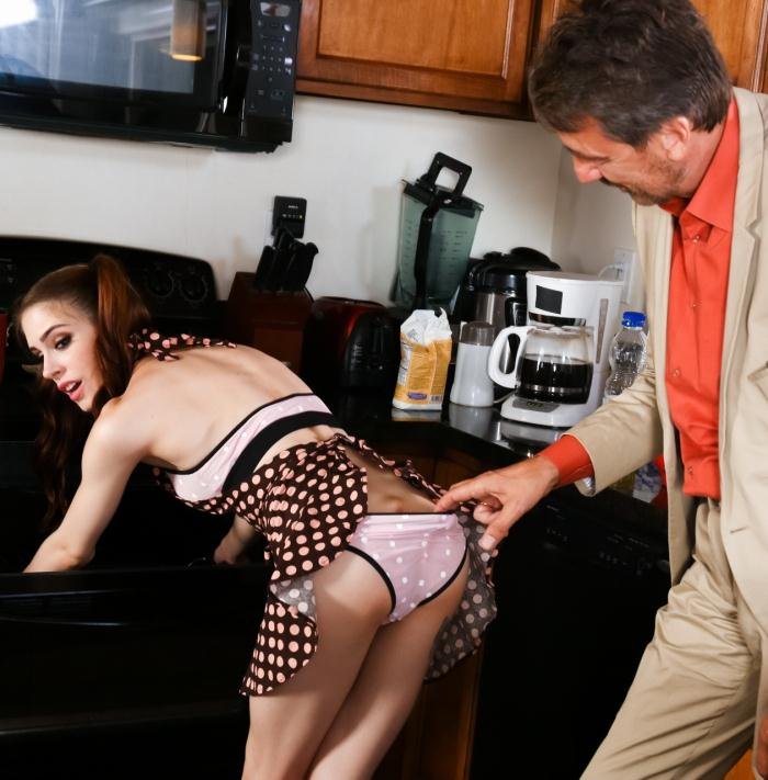 BurningAngel: Anna de Ville - Daddy Fuck My Ass - Anna de Ville  [HD 720p]  (Anal)
