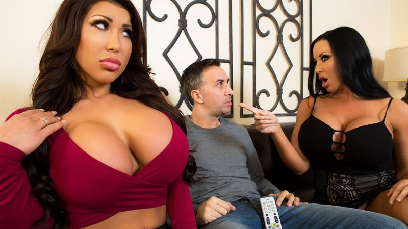 RealWifeStories/Brazzers: August Taylor, Sybil Stallone - Sharing Is Caring  [SD 480p] (601 MiB)
