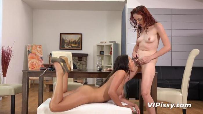 Daphne, Iris Amore - Hat Trick (VIPissy) HD 720p