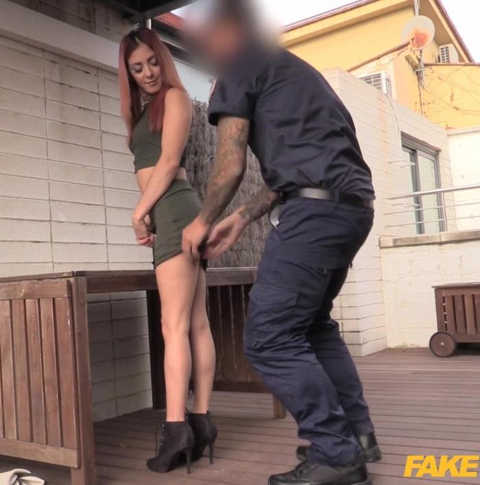 FakeCop: Chiki Dulce - Cute Trespasser Rides Policemans Cock  [FullHD 1080p]  (Public)