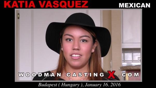 Katia Vasquez - Casting X 154 - DP, Anal / 21.12.2016 [WoodmanCastingX / SD]