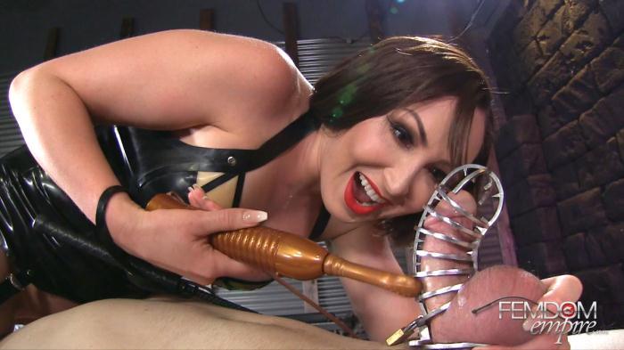 FemdomEmpire: Yasmin Scott - Caged Erection [FullHD 913 MB]
