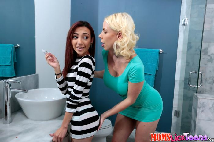 MomsLickTeens: Sunny, Kiley Jay - Cute Dolce [SD 432p] (365 MB)