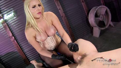 FE [Mistress Vanessa Cage - Prostate Wand Milking] FullHD, 1080p