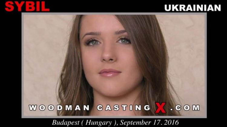 Sybil - Casting with Ukrainian Teen / 17.09.2016 [WoodmanCastingX / FullHD]