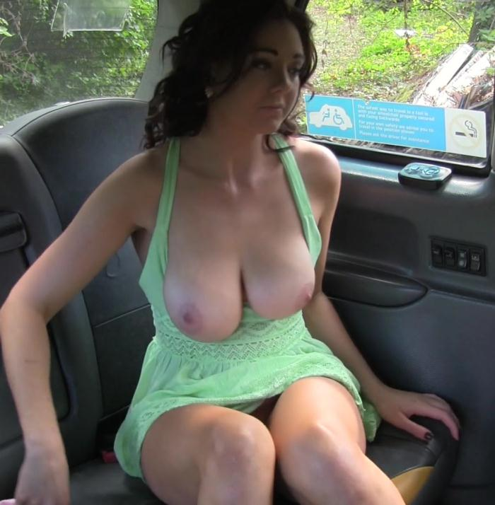 FemaleFakeTaxi: Ava Austen, Sapphire Blue - Big tits babe licks pussy on bonnet  [FullHD 1080p]  (Public)