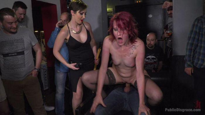 Pain Slut Rija Mae Fully Disgraced (PublicDisgrace) HD 720p