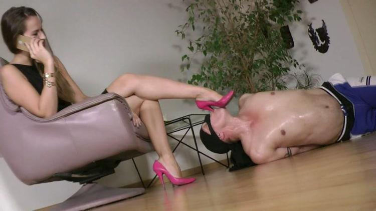 Lady Iveta - Humiliating My Shoe Slut / 09 Dec 2016 [Clips4sale / FullHD]