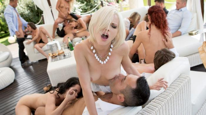DorcelClub.com: Tiffany Doll, Gina Gerson, Anita Bellini, Aisha, Cassie Fire, Shona River - Luxury Orgy with 9 girls (2016/FullHD)