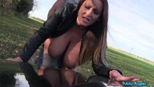Publ1c4g3nt.com / F4k3Hub.com [Laura Orsolya - Massive hanging boobs from hungary] SD, 480p