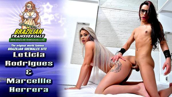 Brazilian-Transsexuals - Leticia Rodrigues & Marcellle Herrera - Hardcore [FullHD, 1080p]
