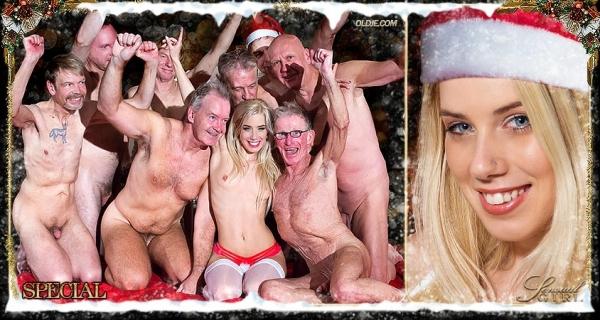 0ldje.com - Nesty - №586 Christmas Gang-Bang [FullHD 1080p]