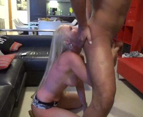 [LadyKacyKisha - Arschfotze lecken bis er spritzt - Dirty Rimmjob] FullHD, 1080p