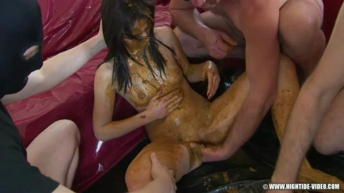 Betty Screws The Crew - Extreme Group Scat - Male Scat (Scat Porn) FullHD 1080p