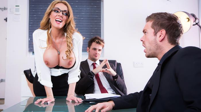 BigTitsAtWork/Brazzers: Stacey Saran - The Firm and the Fanny  [SD 480p]  (Big tit)