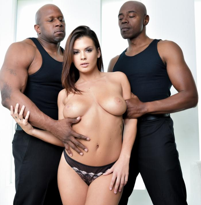 Darkx: Keisha Grey - Keisha Greys IR DP  [HD 720p]  (Interracial)