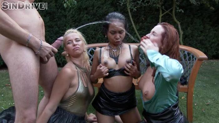 Nikki Dream, Eva Berger, Killa Raketa - Pervy Pissy Power Pussies (S1nDr1v3) FullHD 1080p