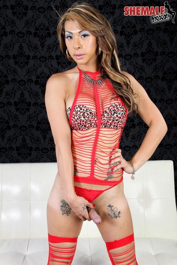 Shemale.xxx: Chriselle and Her Toys [HD] (390 MB)