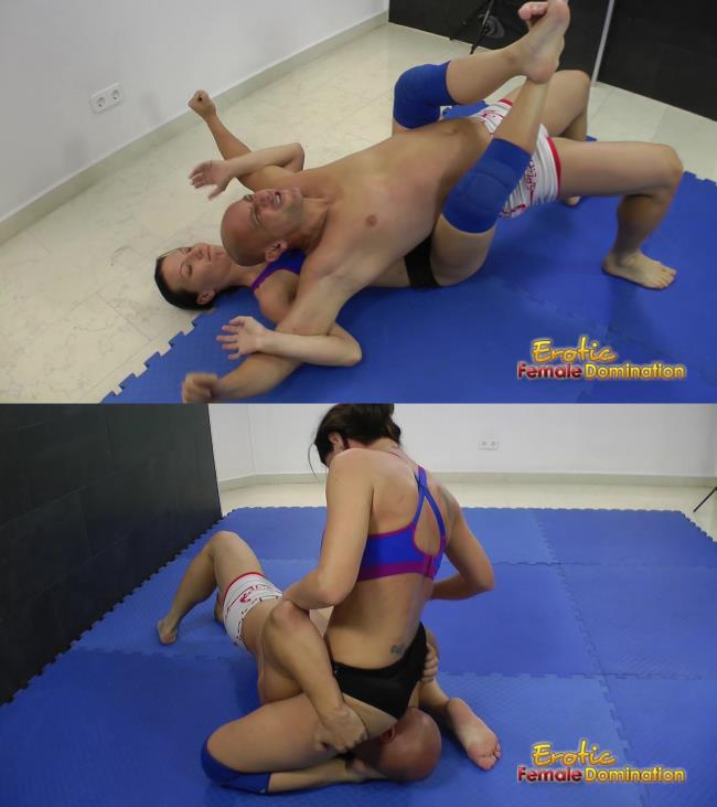 EroticFemaleDomination: Amateur - Humiliating Defeat For A Tidy Whitey Boxer Shorts Wrestler (FullHD/2016)