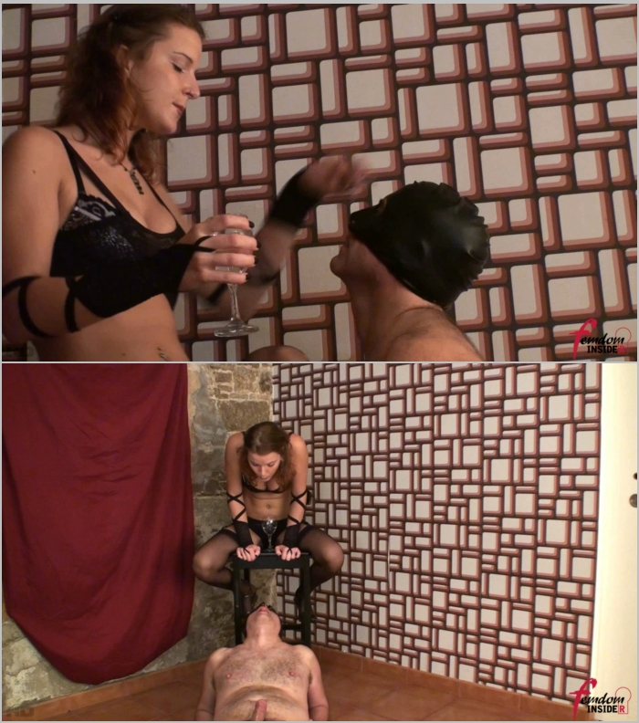 FemdomInsider - Mistress Nataly [Spit Swallowing Moron] (FullHD 1080)